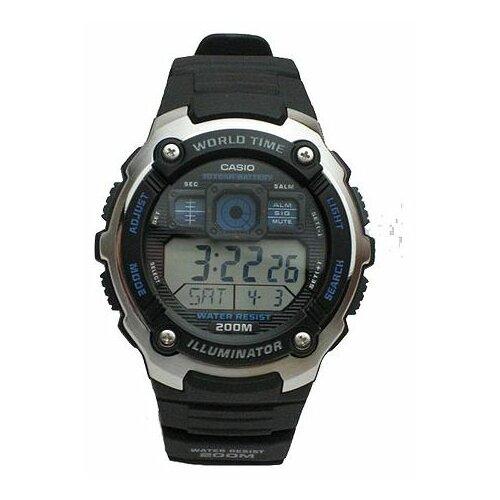 Наручные часы CASIO AE-2000W-1A casio часы casio ae 2100w 4a коллекция digital