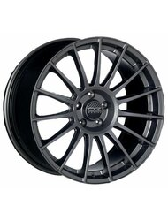 Диск OZ Racing Superturismo LM Matt Race Silver Black Lettering 7.5x17/5x112 D75 ET50 - фото 1