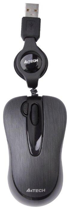 Мышь A4Tech N-60F-1 Black USB