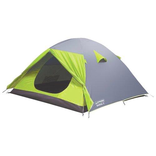 Палатка ATEMI BAIKAL 3 CX серый/зеленый