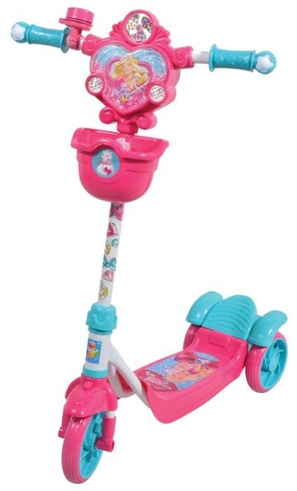 Городской самокат 1 TOY Т57634 Barbie