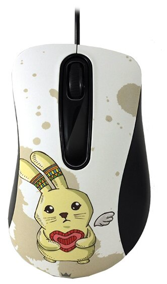 Мышь CROWN MICRO CMM-30 Rabbit White USB
