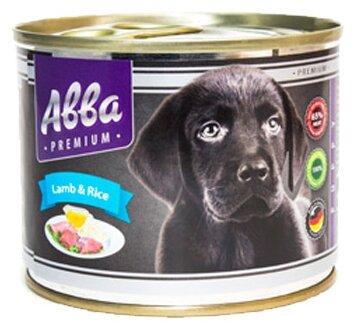 Корм для собак Авва Консервы Premium Puppy Lamb and rice