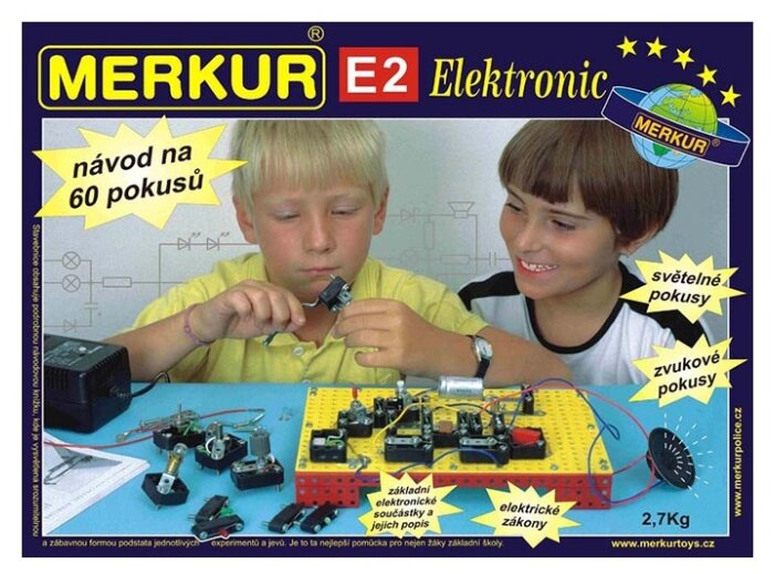Электронный конструктор Merkur Electroset 3123 E2 Электроника