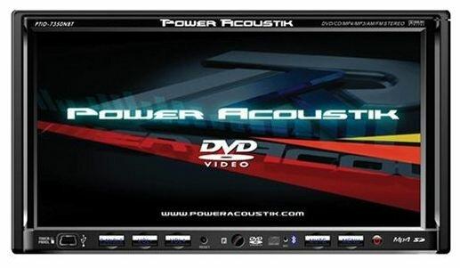 Автомагнитола Power Acoustik PTID-7350NRBT