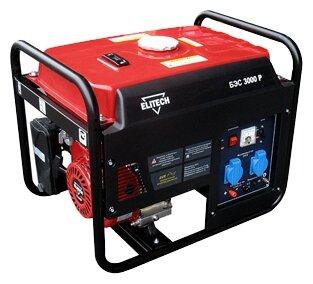 Бензиновый генератор ELITECH БЭС 3000 P (2300 Вт)