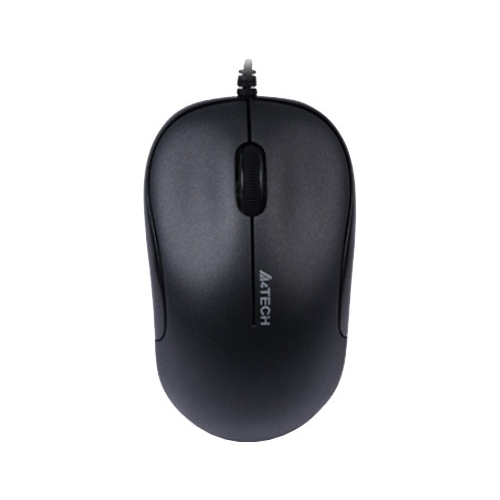 Мышь A4Tech D-330 DustFree HD Mouse Black USB