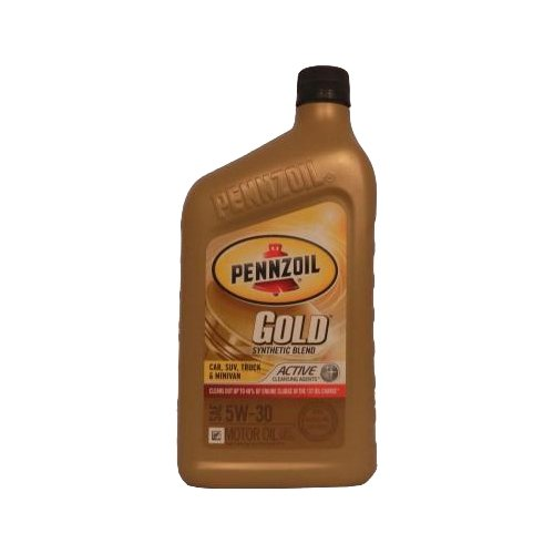 Фото - Моторное масло Pennzoil Gold Synthetic Blend SAE 5W-30 0.946 л моторное масло pennzoil gold synthetic blend sae 5w 30 0 946 л