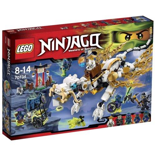 Фото - Конструктор LEGO Ninjago 70734 Дракон мастера Ву конструктор lego ninjago 70599 дракон коула