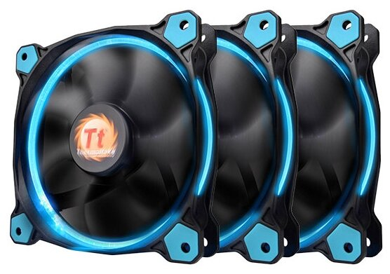 Thermaltake Riing 12 LED Blue (3 fans pack)