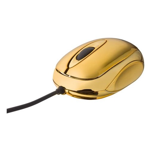 Мышь Trust RefleX Mini Mouse Gold USB
