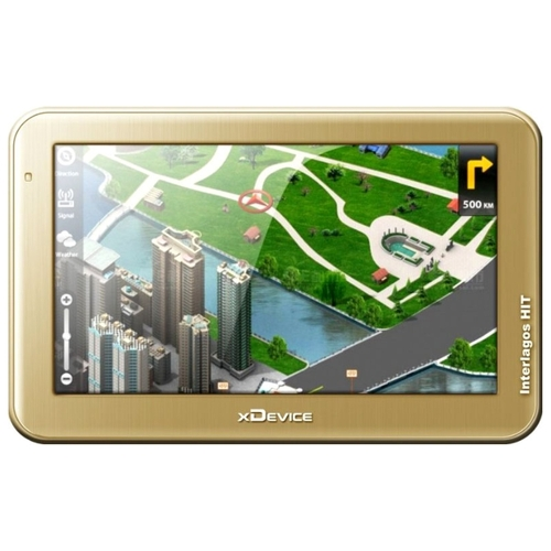 Навигатор xDevice microMAP-Interlagos HIT (5-A5-FM-4Gb) GPS-навигаторы