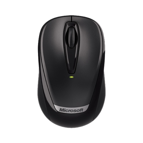Мышь Microsoft Wireless Mobile Mouse 3000 with Nano Black USB