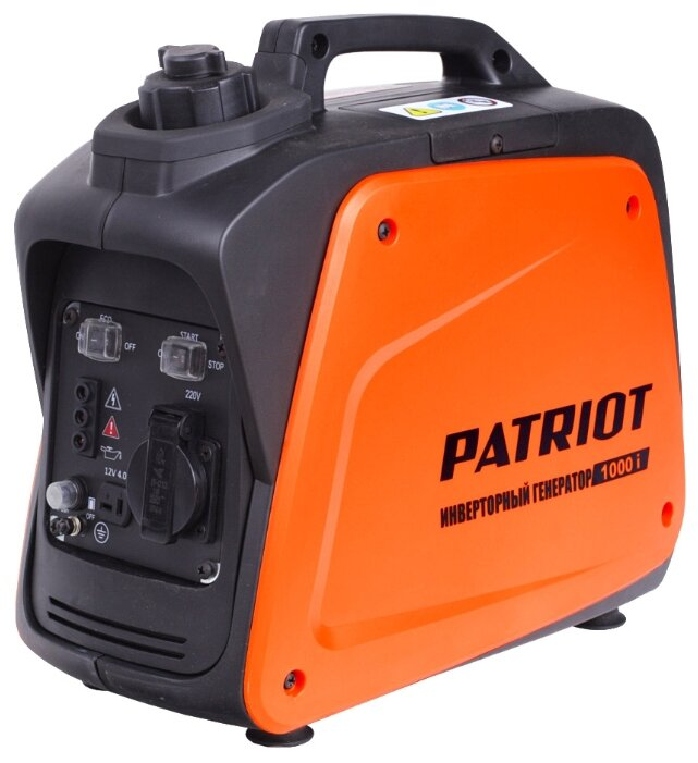 Бензиновая электростанция PATRIOT 1000i