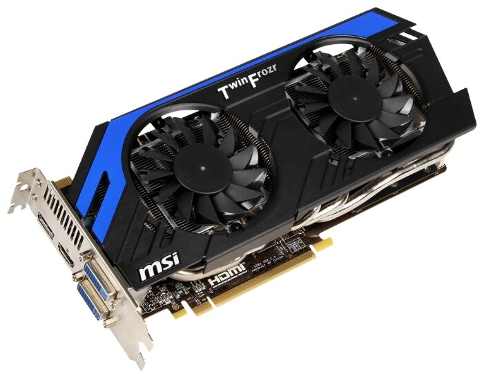 MSI GeForce GTX 670 915Mhz PCI-E 3.0 2048Mb 6008Mhz 256 bit 2xDVI HDMI HDCP Power Edition