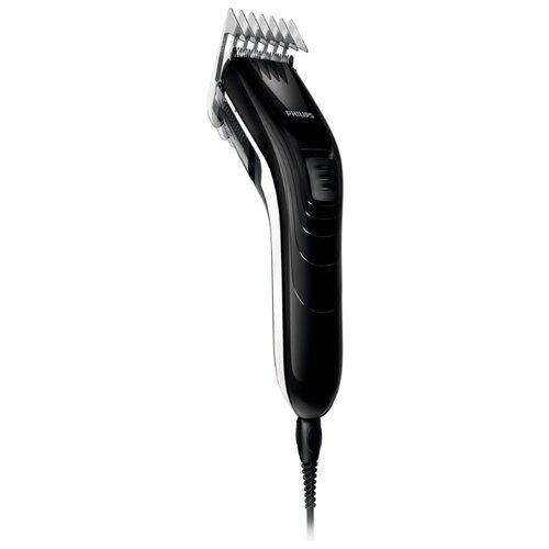 машинка для стрижки волос philips hc3530 15 series 3000 Машинка для стрижки Philips QC5115 Series 3000 черный/серый
