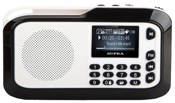 Портативная акустика Supra PAS-3909 Silver