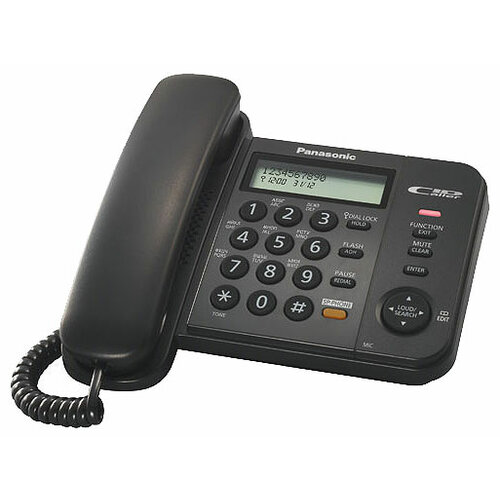 Купить Телефон Panasonic KX-TS2358 черный