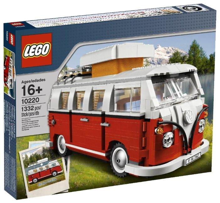 Конструктор LEGO Creator 10220 Автофургон Фольксваген Т1 — купить по выгодной цене на Яндекс.Маркете