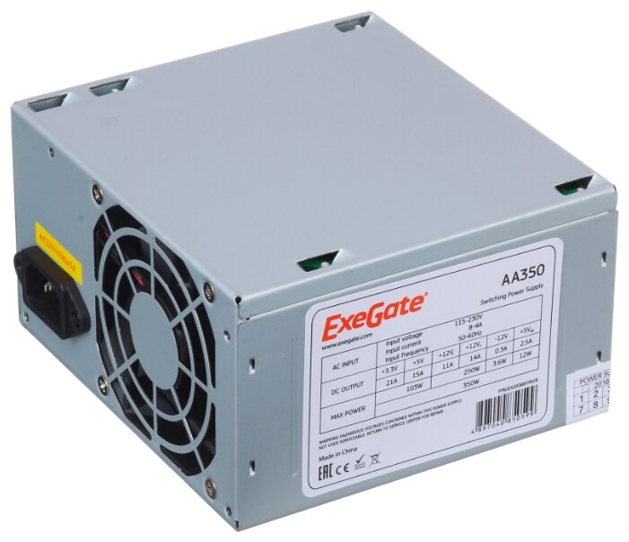 ExeGate Блок питания ExeGate AA350 350W