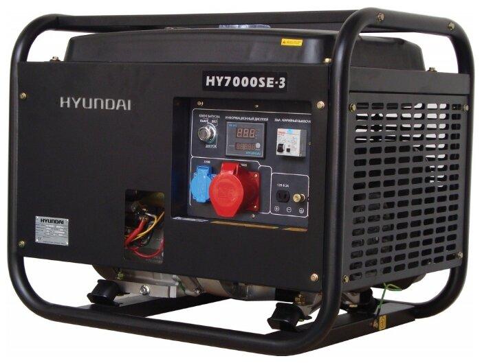 Бензиновый генератор Hyundai HY7000SE 3 (5000 Вт)