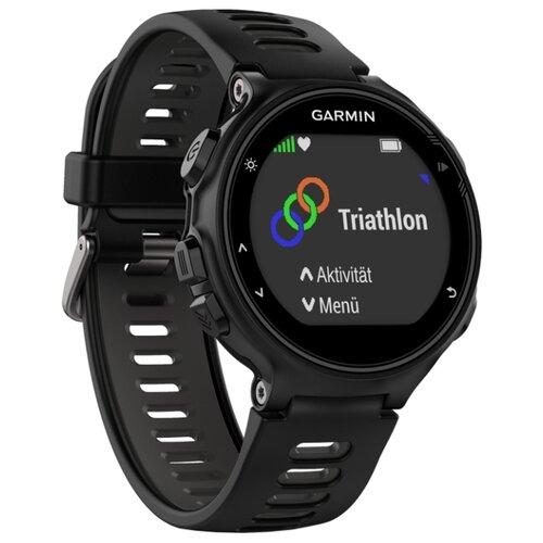 цена на Часы Garmin Forerunner 735XT черно-серый