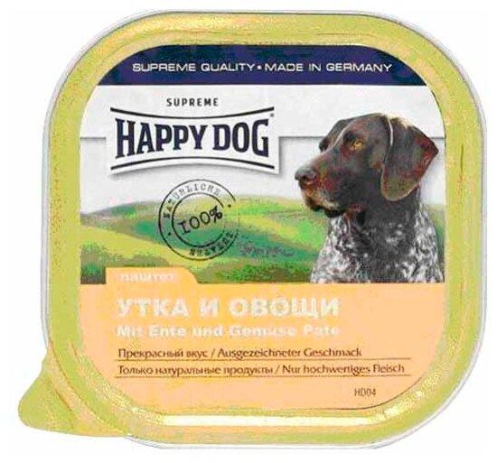 Корм для собак Happy Dog NaturLine утка с овощами 300г