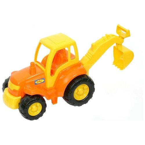 Трактор Полесье Чемпион с лопатой (0568) 36 см полесье трактор крепыш