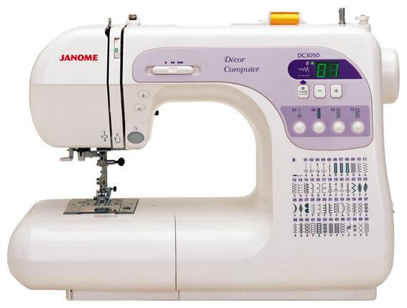 Сравнение с Janome Decor Computer 50