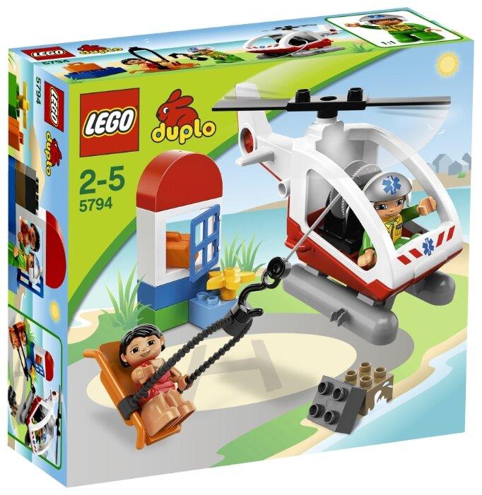 Конструктор LEGO DUPLO 5794 Вертолёт скорой помощи