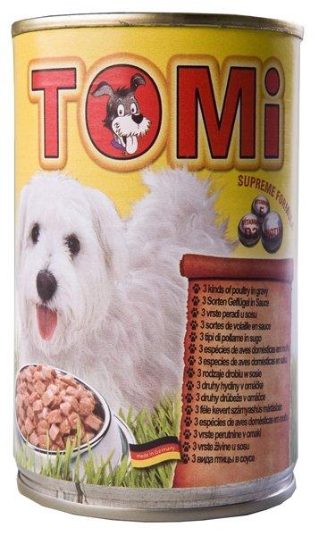 ToMi (0.4 кг) 1 шт. Консервы для собак 3 вида птицы