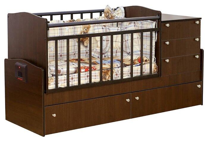 Кроватка Daka Baby Укачай-ка 5 (трансформер)