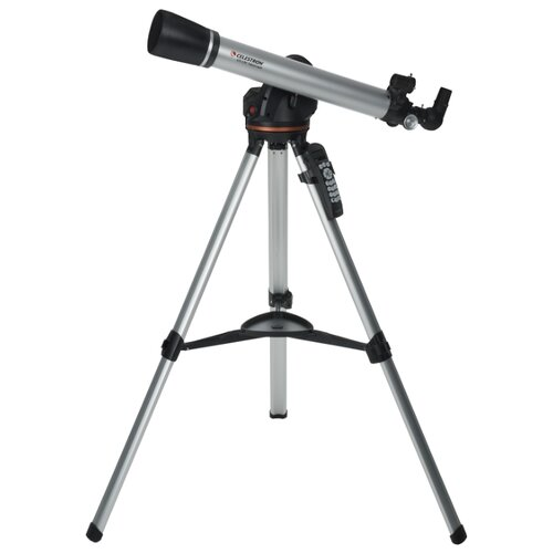 Телескоп Celestron LCM 60 серебристый телескоп celestron astromaster 90 az синий серебристый