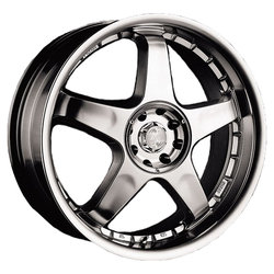 Колесные диски Racing Wheels H-115 7x17/5x112 D66.6 ET40 OG-OJBK P