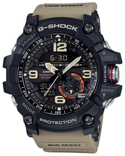 Часы SKMEI 1251 противоударные водостойкие 50м (черные)
