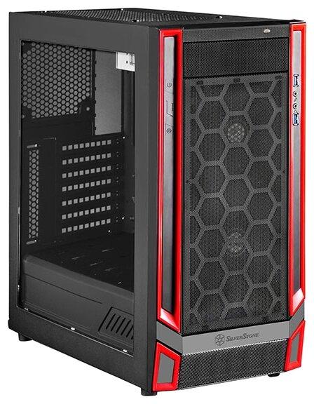 SilverStone Компьютерный корпус SilverStone RL05BR-W Black/red