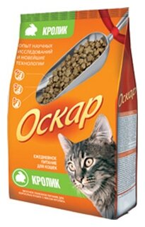 Оскар Сухой корм для кошек Кролик (0.4 кг) 1 шт.