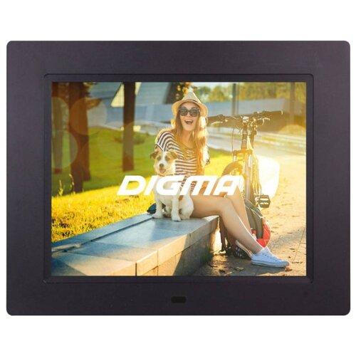 Фоторамка Digma PF-833 черный