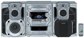 Музыкальный центр Panasonic SC-AK48