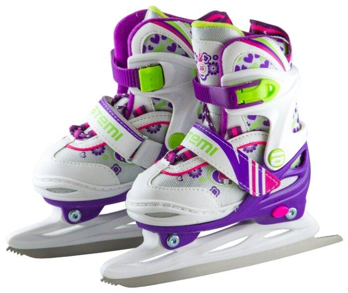 Детские прогулочные коньки ATEMI AKSK-17.01 Ice Girl для девочек