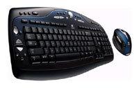 Клавиатура и мышь Logitech Cordless Desktop MX 3100 Black USB+PS/2