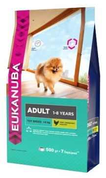 Корм для собак Eukanuba Dog Adult Toy Breed