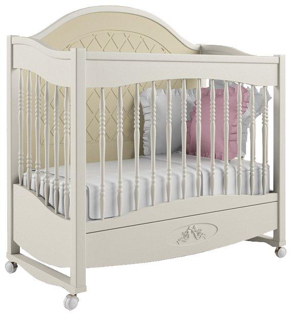 Кроватка Nom du Bebe Людовик (качалка, с ящиком)