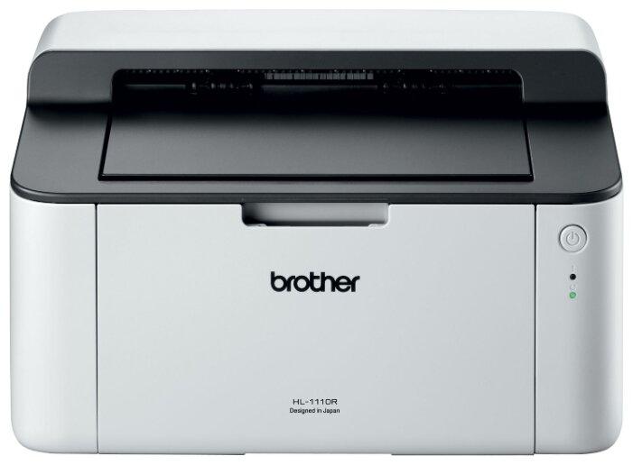 Принтер лазерный Brother HL-1110R, A4, 20стр/мин, USB