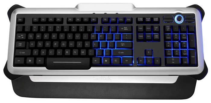 Клавиатура Saitek Eclipse II Black USB