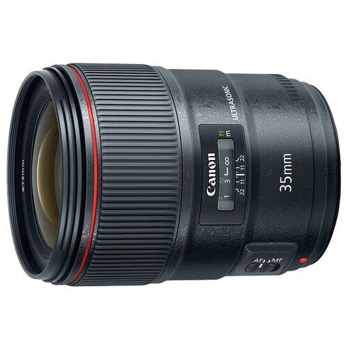 Объектив Canon EF 35mm f/1.4L II USM черный