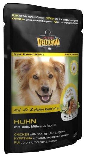 Корм для собак Belcando Курятина с рисом, морковью и цукини (0.125 кг) 1 шт.
