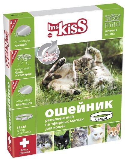 Ошейник репеллентный Ms.Kiss 38 см красный MK05-00340