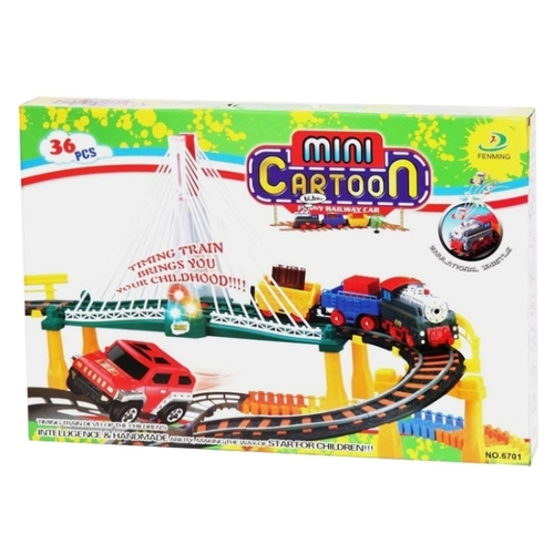 Конструктор Fenming Toys Mini Cartoon 6701 36 деталей