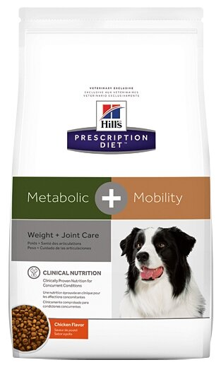 Корм для собак Hill's Prescription Diet Canine Metabolic+mobility with Chicken dry